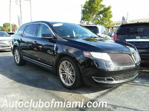 2013 Lincoln MKT for sale in Miami, FL