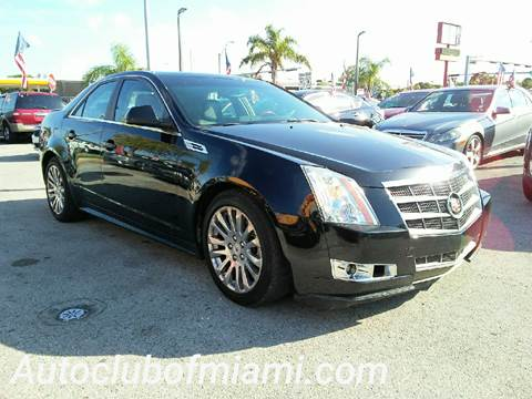 2010 Cadillac CTS for sale in Miami, FL