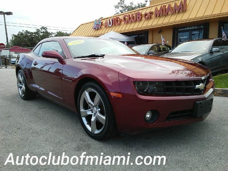 2010 CHEVROLET CAMARO LT 2DR COUPE W1LT red all of our vehicles are clean titles financing is a