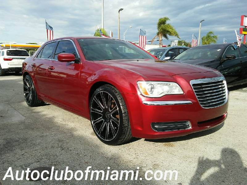 2014 CHRYSLER 300 BASE 4DR SEDAN red all of our vehicles are clean titles financing is available