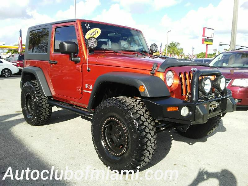 2009 JEEP WRANGLER X 4X4 2DR SUV brown 4x4 automaticfront arb xrc performance winch bumper