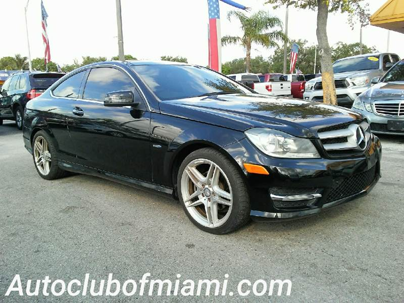2012 MERCEDES-BENZ C-CLASS C 250 2DR COUPE black all of our vehicles are clean titles financing