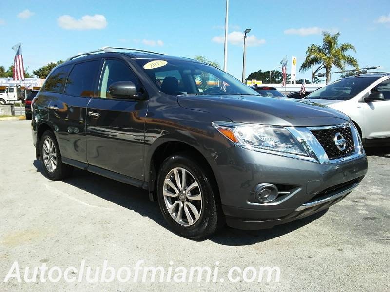 2013 NISSAN PATHFINDER PLATINUM 4X4 4DR SUV gray all of our vehicles are clean titles financing