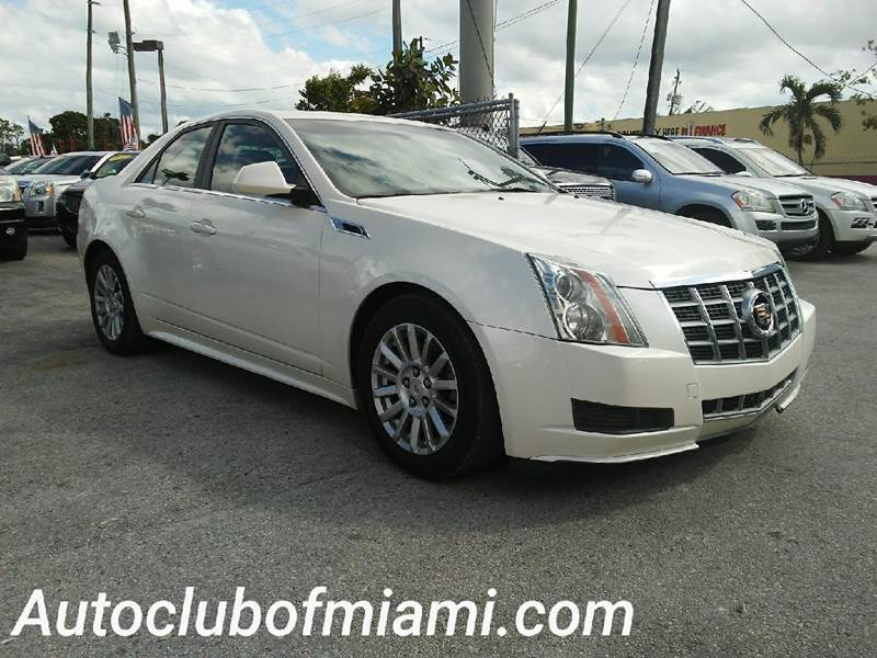 2012 CADILLAC CTS 30L LUXURY AWD 4DR SEDAN white all of our vehicles are clean titles financing