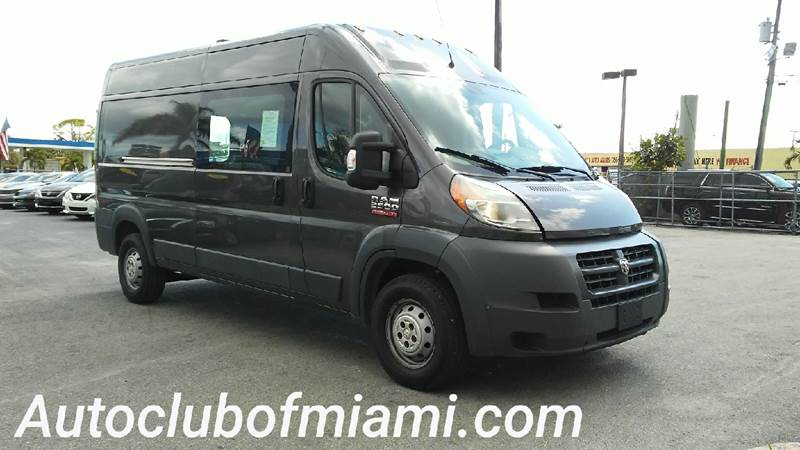 2014 RAM PROMASTER CARGO 2500 159 WB 3DR HIGH ROOF CARGO gray automatic pw rear camera ready fo