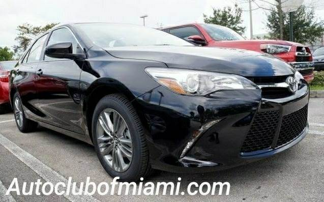 2017 TOYOTA CAMRY SE 4DR SEDAN black all of our vehicles are clean titles financing is available