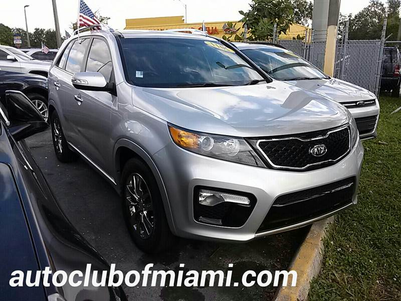 2011 KIA SORENTO SX 4DR SUV silver all of our vehicles are clean titles financing is available f