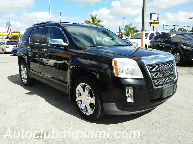 2010 GMC TERRAIN SLT 2 AWD 4DR SUV black all of our vehicles are clean titles financing is avail