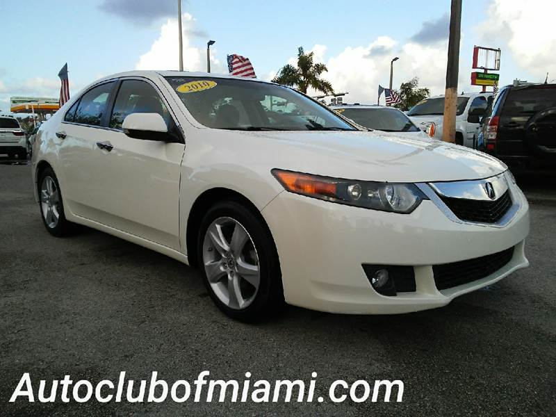 2010 ACURA TSX BASE 4DR SEDAN 5A white all of our vehicles are clean titles financing is availab
