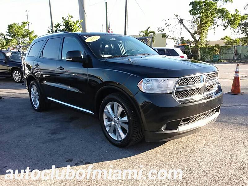 2012 DODGE DURANGO CREW AWD 4DR SUV black all of our vehicles are clean titles financing is avai