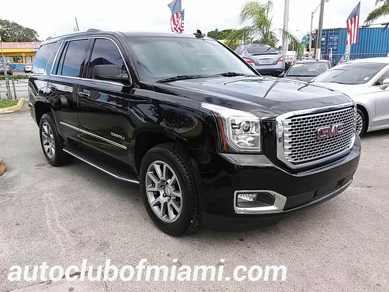 2016 GMC YUKON DENALI 4X4 4DR SUV black this model model includes  keyless ignition and entry