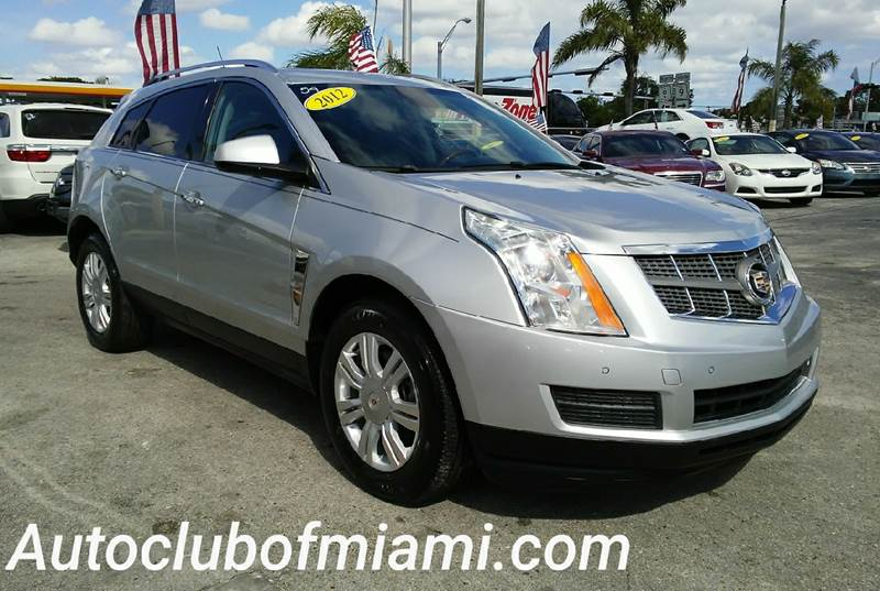 2012 CADILLAC SRX LUXURY COLLECTION 4DR SUV silver all of our vehicles are clean titles financin