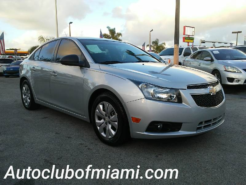 2013 CHEVROLET CRUZE LS AUTO 4DR SEDAN W1SB silver all of our vehicles are clean titles financi