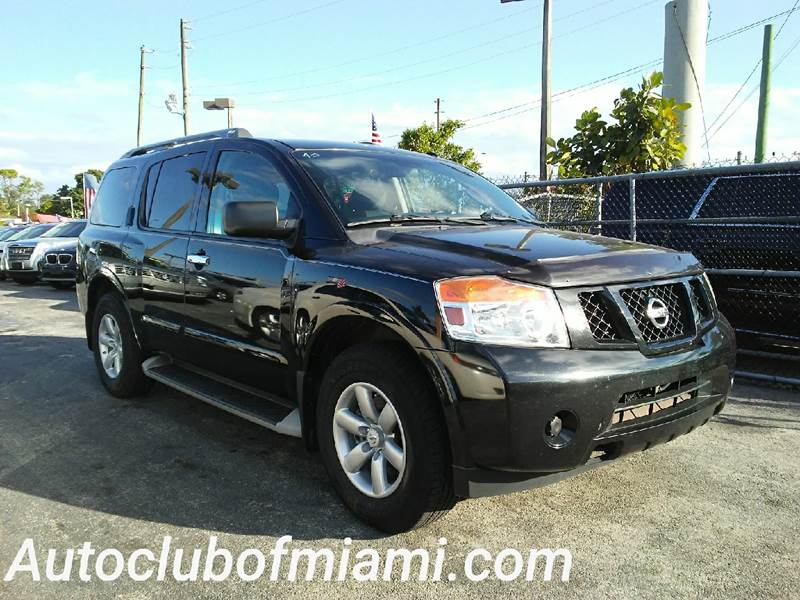 2013 NISSAN ARMADA SV 4X2 4DR SUV black all of our vehicles are clean titles financing is availa