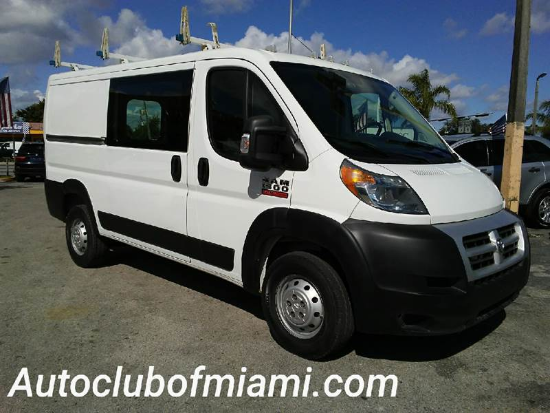 2014 RAM PROMASTER CARGO 1500 136 WB 3DR LOW ROOF CARGO V white all of our vehicles are clean titl