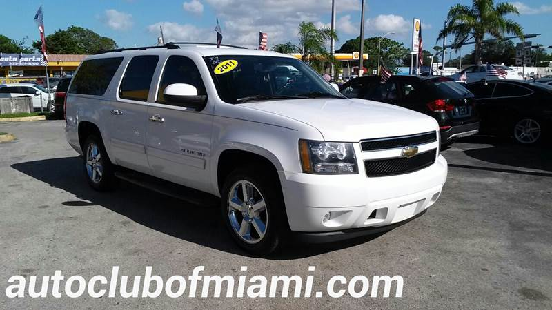 2011 CHEVROLET SUBURBAN LT 1500 4X2 4DR SUV white all of our vehicles are clean titles financing