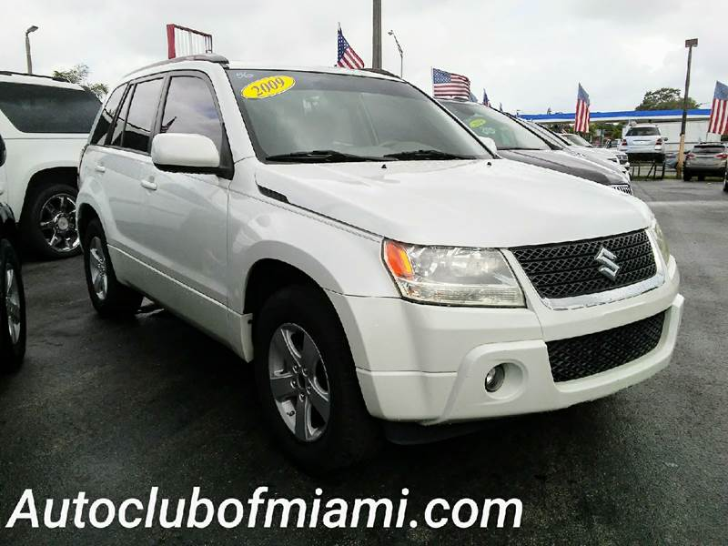 2009 SUZUKI GRAND VITARA XSPORT 4DR SUV 4A white all of our vehicles are clean titles financing