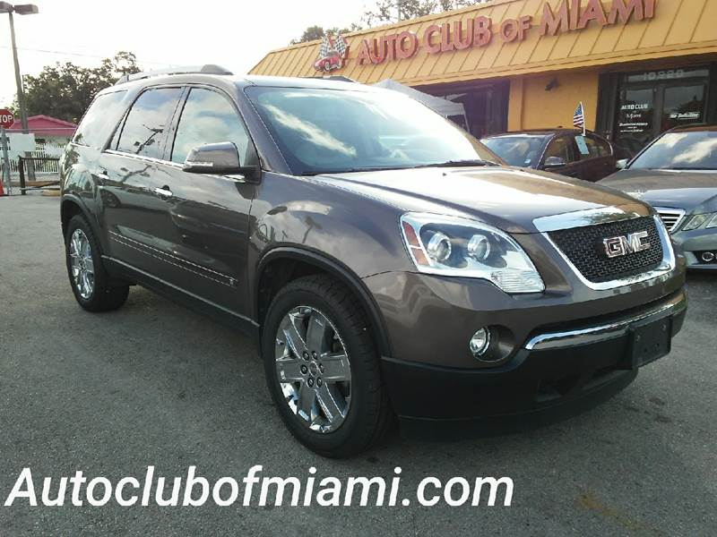 2010 GMC ACADIA SLT 2 4DR SUV gold all of our vehicles are clean titles financing is available f