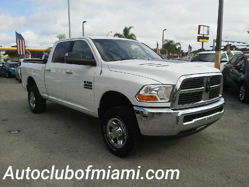2012 RAM RAM PICKUP 2500 BIG HORN 4X4 4DR CREW CAB 63 FT white all of our vehicles are clean titl