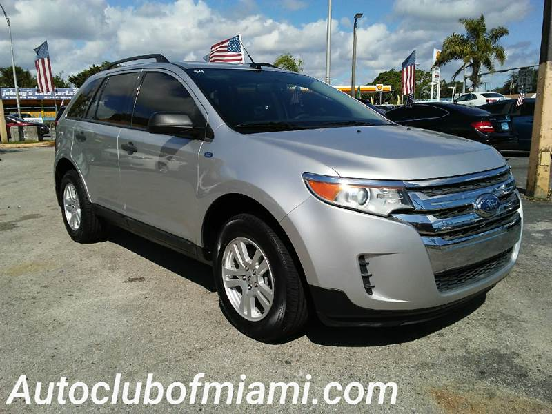 2011 FORD EDGE SE 4DR CROSSOVER silver all of our vehicles are clean titles financing is availab