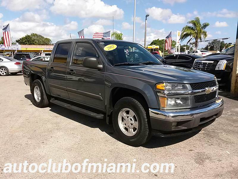 2007 CHEVROLET COLORADO LT 4DR CREW CAB SB blue all of our vehicles are clean titles financing i