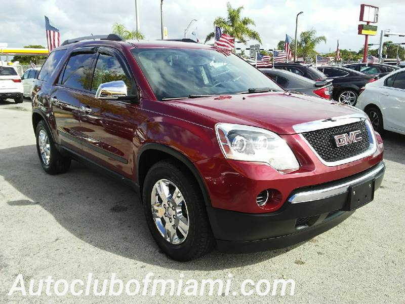 2010 GMC ACADIA SL AWD 4DR SUV maroon all of our vehicles are clean titles financing is availabl