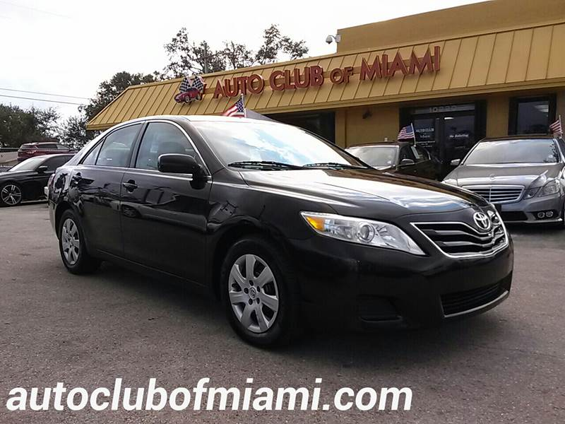 2011 TOYOTA CAMRY BASE 4DR SEDAN 6A black all of our vehicles are clean titles financing is avai