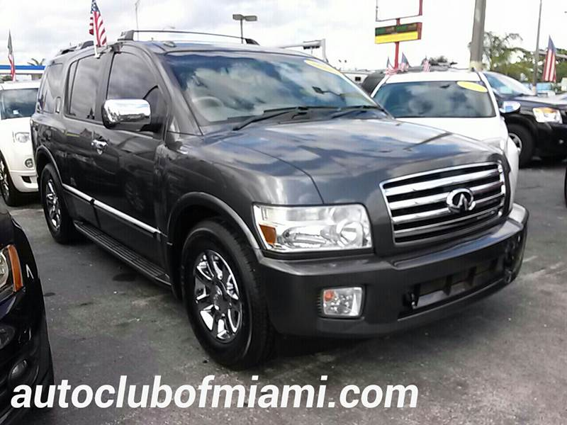 2006 INFINITI QX56 BASE 4DR SUV gray all of our vehicles are clean titles financing is available