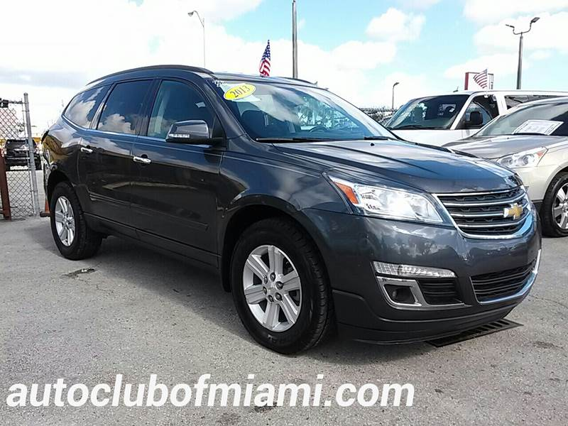 2013 CHEVROLET TRAVERSE LT 4DR SUV W1LT gray all of our vehicles are clean titles financing is
