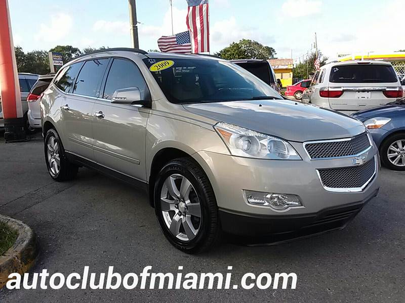 2009 CHEVROLET TRAVERSE LTZ 4DR SUV tan all of our vehicles are clean titles financing is availa