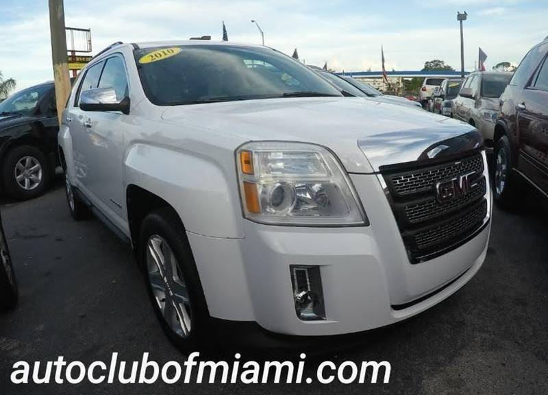 2010 GMC TERRAIN SLT 2 4DR SUV white all of our vehicles are clean titles financing is available