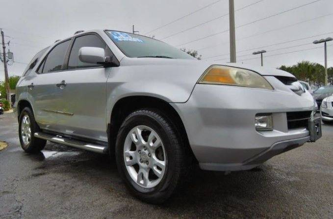 2005 ACURA MDX TOURING WRES AWD 4DR SUV WENTE silver all of our vehicles are clean titles fina
