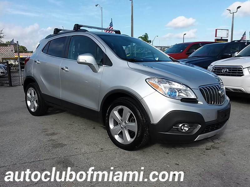 2015 BUICK ENCORE LEATHER 4DR CROSSOVER silver all of our vehicles are clean titles financing is