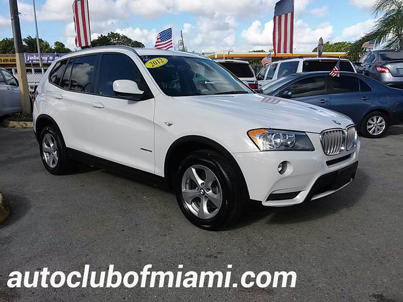 2012 BMW X3 XDRIVE28I AWD 4DR SUV white all of our vehicles are clean titles financing is availa