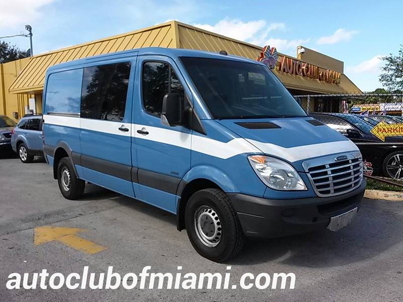 2011 MERCEDES-BENZ SPRINTER CARGO 2500 144 WB 3DR CARGO VAN blue all of our vehicles are clean ti