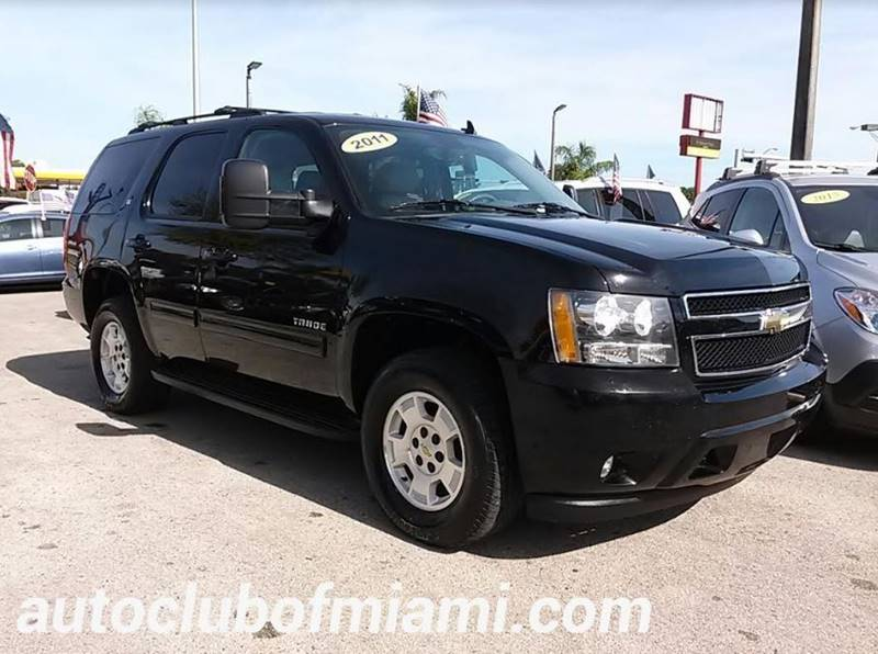 2011 CHEVROLET TAHOE LT 4X4 4DR SUV black all of our vehicles are clean titles financing is avai