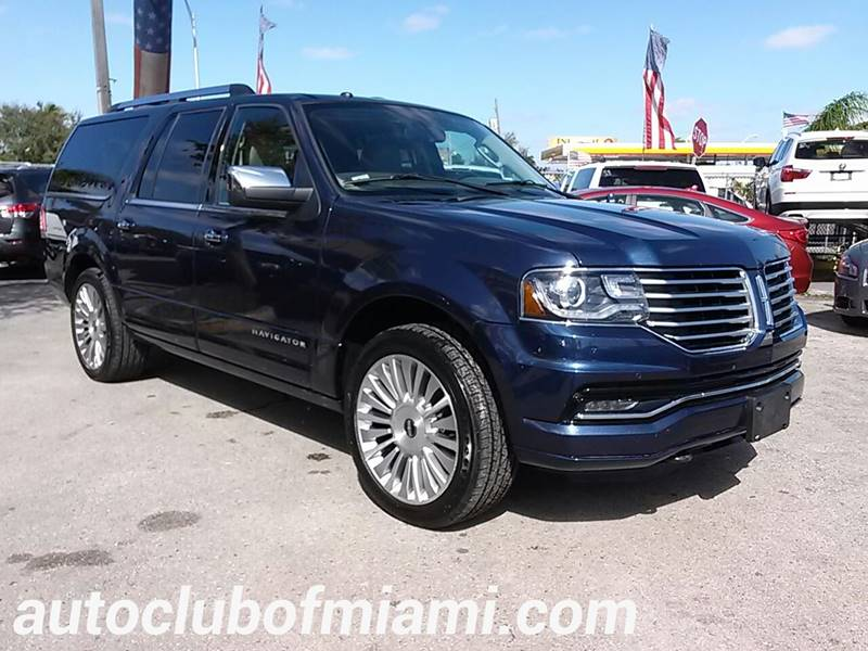 2015 LINCOLN NAVIGATOR L BASE 4X4 4DR SUV blue all of our vehicles are clean titles financing is
