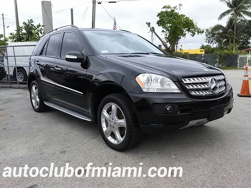 2008 MERCEDES-BENZ M-CLASS ML 320 CDI AWD 4MATIC 4DR SUV black all of our vehicles are clean title