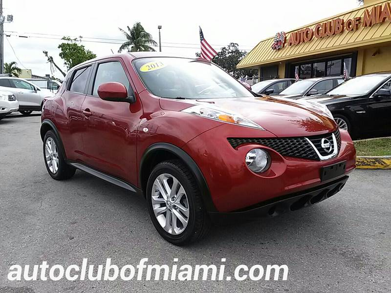 2013 NISSAN JUKE S AWD 4DR CROSSOVER red all of our vehicles are clean titles financing is avail