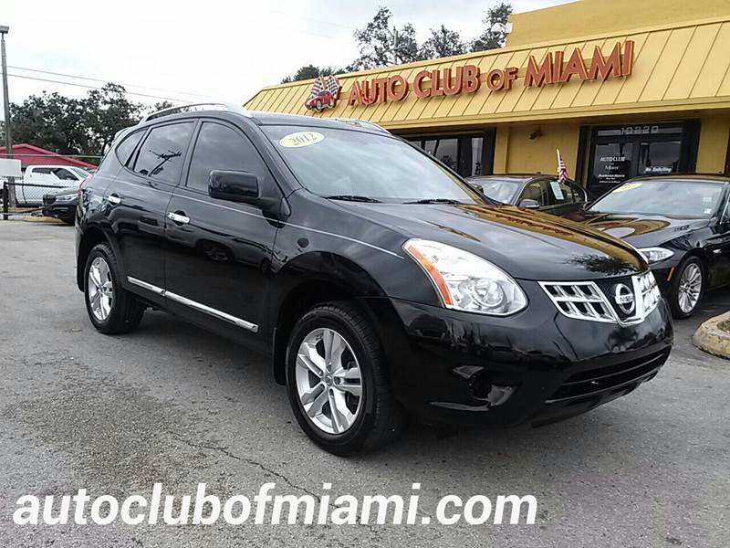 2012 NISSAN ROGUE S 4DR CROSSOVER black all of our vehicles are clean titles financing is availa