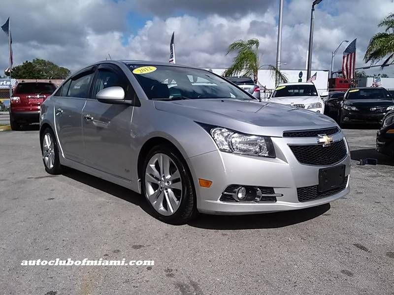 2012 CHEVROLET CRUZE LTZ 4DR SEDAN W1LZ silver all of our vehicles are clean titles financing i