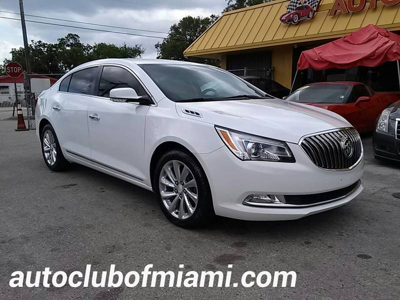 2014 buick lacrosse leather in miami fl auto club of miami inc. Black Bedroom Furniture Sets. Home Design Ideas