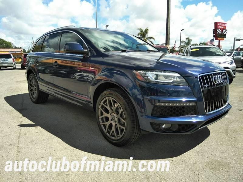 Audi Q T Quattro S Line Prestige In Miami FL AUTO CLUB - Audi q7 for sale