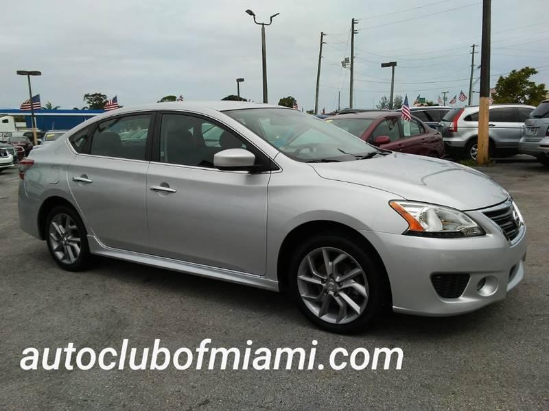2014 Nissan Sentra For Sale At AUTO CLUB OF MIAMI,INC In Miami FL