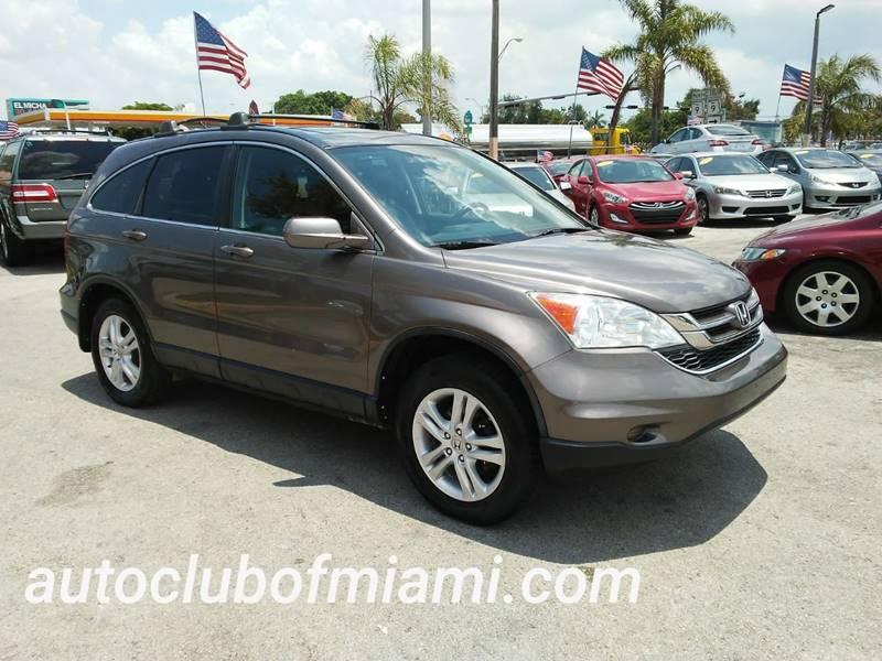 2010 Honda CR V For Sale At AUTO CLUB OF MIAMI,INC In Miami