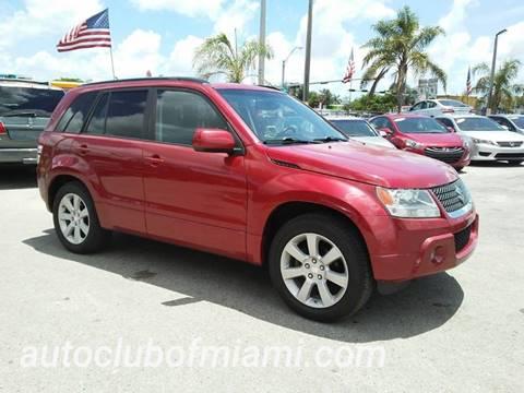 2012 Suzuki Grand Vitara for sale at AUTO CLUB OF MIAMI in Miami FL