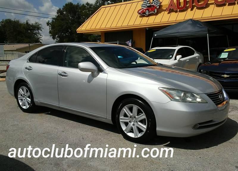 2007 Lexus ES 350 For Sale At AUTO CLUB OF MIAMI,INC In Miami FL