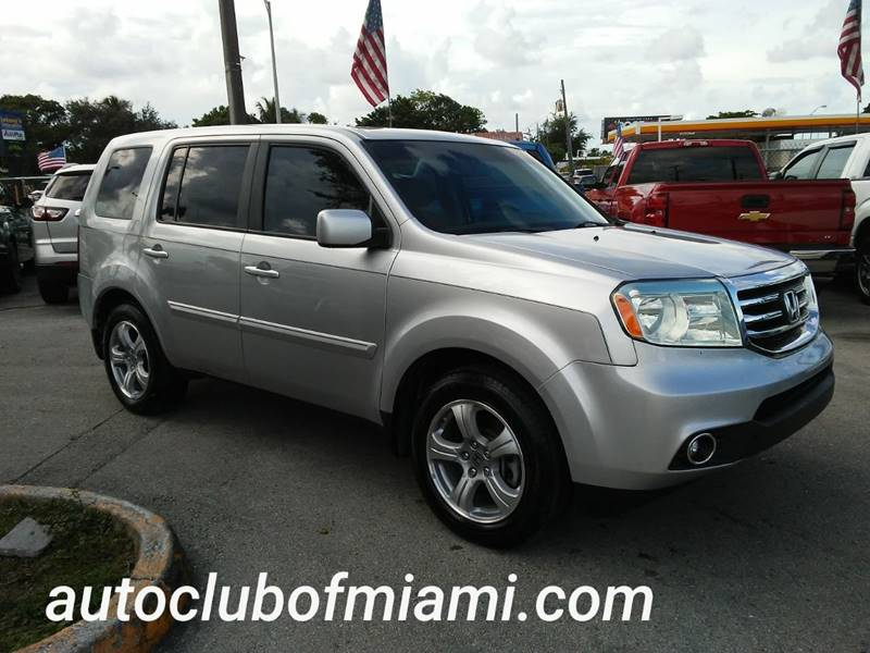 2013 Honda Pilot For Sale At AUTO CLUB OF MIAMI,INC In Miami FL