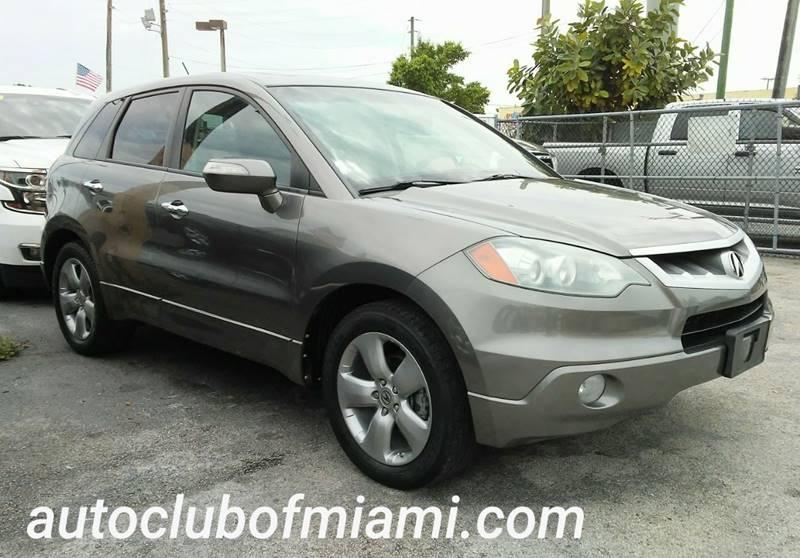Acura RDX SHAWD WTech In Miami FL AUTO CLUB OF MIAMIINC - 2007 acura rdx for sale