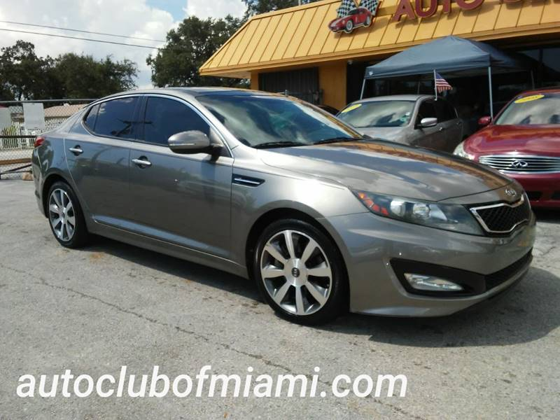 2012 Kia Optima For Sale At AUTO CLUB OF MIAMI,INC In Miami FL